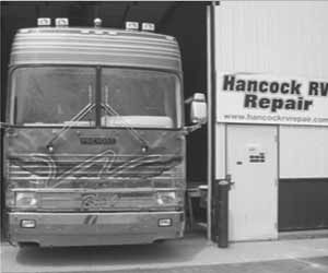Hancock RV Website Designed by Curtis Smeltzer Graphic Design